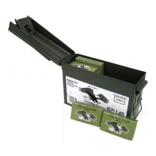 Federal Cartridge Federal Cartridge 5.56mm 62gr SC FMJ Ammo Can/420 without Stripper Clips XM855FAC1