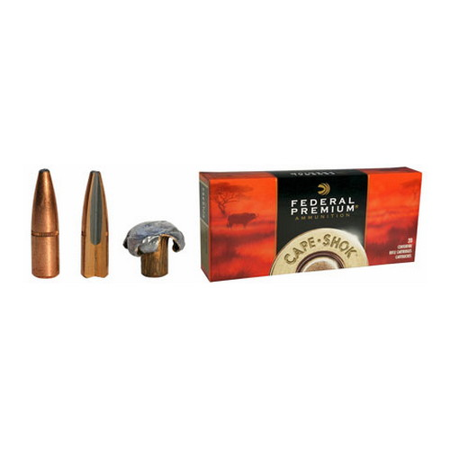 Federal Cartridge 375 Holland & Holland 375 H&H,  300gr, Trophy Bonded Bear Claw, (Per 20)