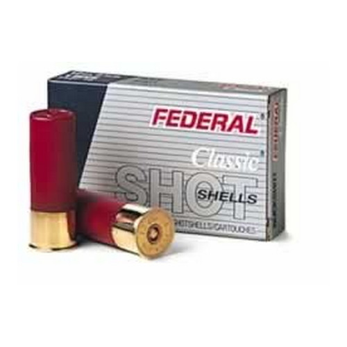 "Federal Cartridge 16 Gauge Shot shells 16 Gauge Power-Shok 2 3/4"" Max dram 12 Pellets 1 Buck (Per 5) F1641B"