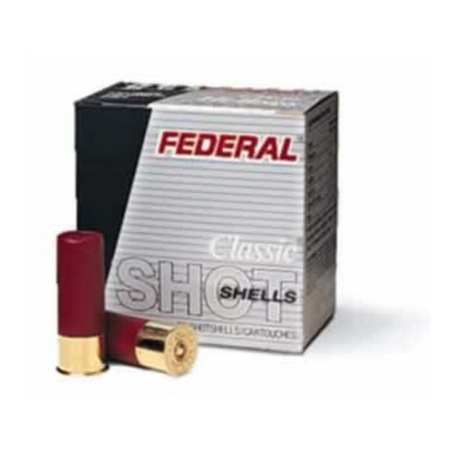 "Federal Cartridge 12 Gauge Shotshells Field 2 3/4"" 3 1/4 dram, 1 1/8oz 6 Shot (Per 25) H1236"