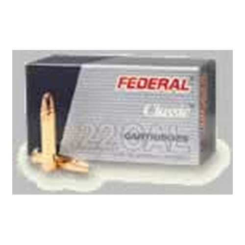 Federal Cartridge 22 Winchester Magnum 22 Win Mag, 50 Grain, Jacketed Hollow Point, (Per 50)