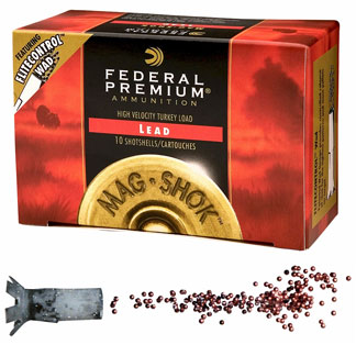 Federal Cartridge Federal Cartridge 12 Gauge Shotshells by Federal MagShok Magnum, Lead 3 1/2