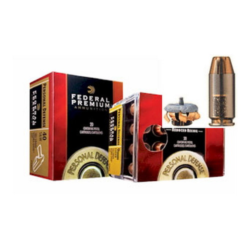 Federal Cartridge Federal Personal Defense 357 Magnum 158 Grain Hydra-Shok JHP (Per 20) P357HS1