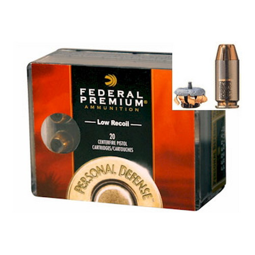 Federal Cartridge Federal Personal Defense 45 ACP 165 Gr. Hydra-Shok Jacketed Hollow Point (Per 20) PD45HS3H