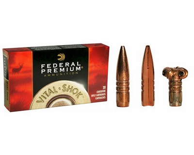 Federal Cartridge 308 Winchester 308 Win, 150gr, Barnes Triple Shock X Bullet, (Per 20)