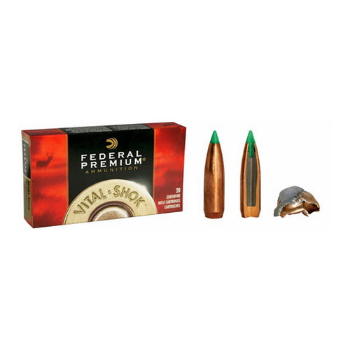 Federal Cartridge 7mm Winchester Short Magnum 7mm WSM, 140gr, Nosler Ballistic Tip, (Per 20)