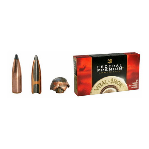 Federal Cartridge 280 Remington 280 Remington, 150grain, Nosler Partition, (Per 20)