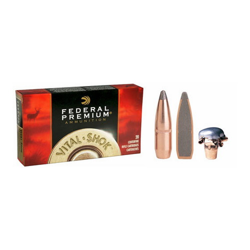 Federal Cartridge Federal Cartridge 260 Remington 260 Rem, 140 grain, Sierra GameKing Boat Tail Soft Point, (Per 20) P260A
