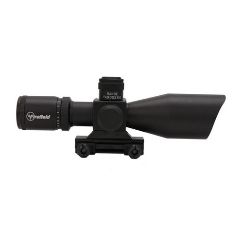 Firefield 2.5-10x40 Riflescope w/Red Laser