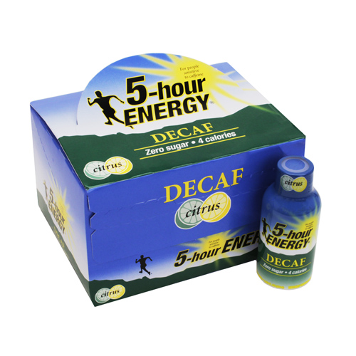 5-Hour Energy 5-Hour Energy Drink Citrus Decaf, Per 12 618121