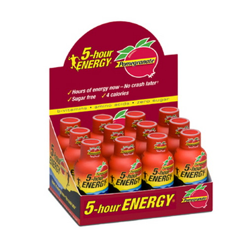 5-Hour Energy 5-Hour Energy Drink, Original, Per 12 Pomegranate 818125