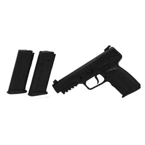 FNH USA Pistol FNH USA Five-seveN 5.7x28MM with 3 20 Round Magazines, Adjustable Sights Black 3868929300