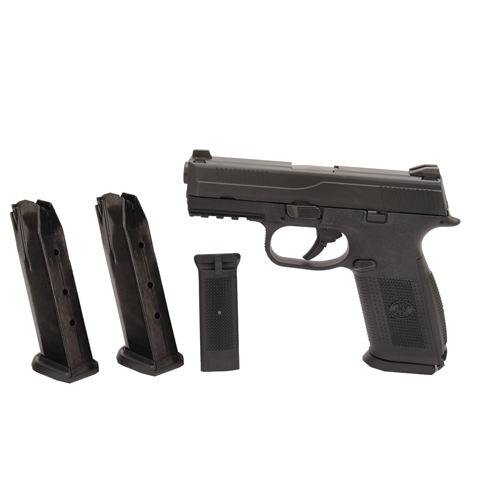 FNH USA Pistol FNH USA FNS-40 No Safety 40 S&W 14 Round, 3 Magazines Black/Black 66760