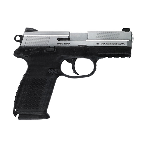 FNH USA Pistol FNH USA FNX-9 DA/SA MS Black/Stainless Steel, 9mm Luger Luger 17 Round(3 Mags) 66827