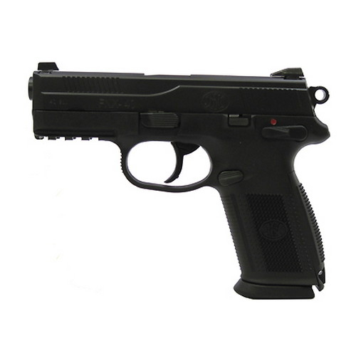 FNH USA Pistol FNH USA FNX-40 DA/SA Manual Safety, 40 S&W 14 Round Capacity Black Slide, Black Frame 66852