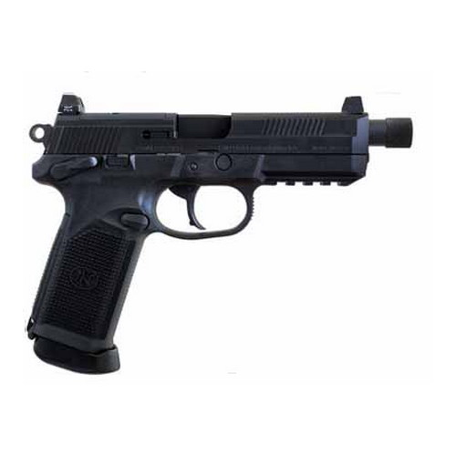 FNH USA FNX-45 Tactical DA/SA Manual Safety, 15 Round Black, Night Sights