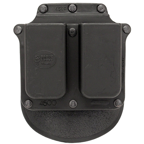 Fobus Fobus Roto Double Mag Pouch Single Stack .45 (Paddle) 4500RP