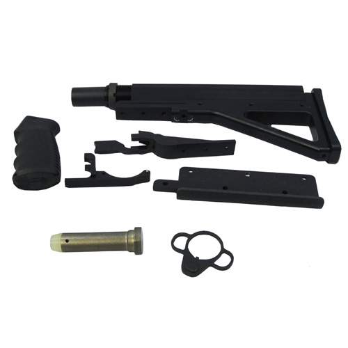 FosTech Outdoors FosTech Outdoors DefendAR-15 Complete Assembly Fixed Right hand D-15-RH-F