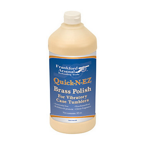 Frankford Arsenal Frankford Arsenal Quick-n-EZ Brass Polish - 32 oz. 321901