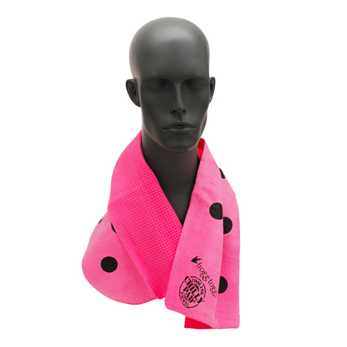 Frogg Toggs Frogg-edelic Chilly Hot Pink/Polka Dots