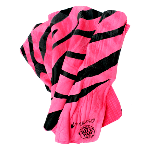 Frogg Toggs Frogg Toggs Frogg-edelic Chilly Hot Pink/Black Zebra CPP100-111Z