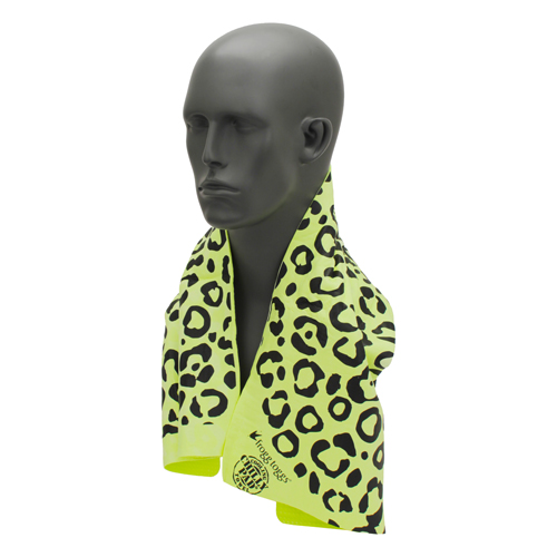 Frogg Toggs Frogg Toggs Frogg-edelic Chilly HiViz Lime/Black Leopard CPP100-148L