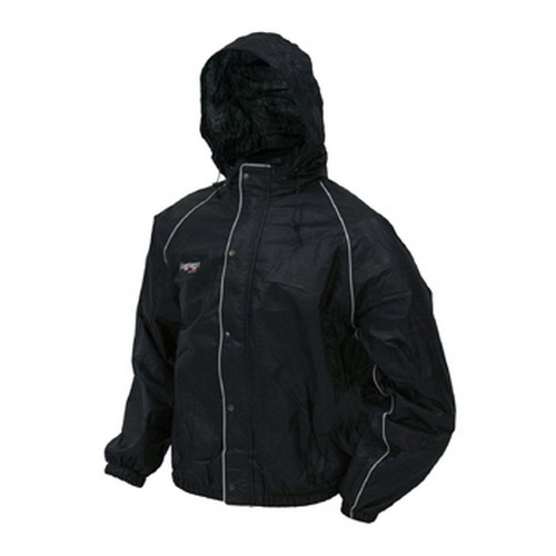 Frogg Toggs Frogg Toggs Road Toad Reflective Jacket Black Medium FT63132-01MD