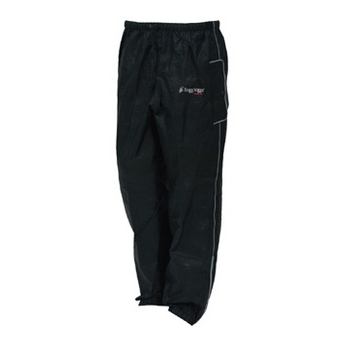 Frogg Toggs Road Toad Reflective Pant Black Medium