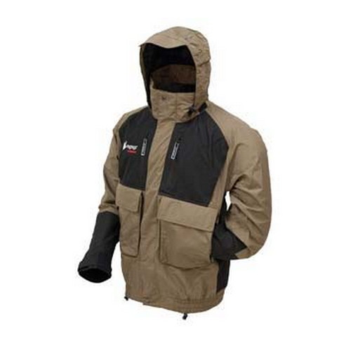 Frogg Toggs Firebelly Toadz Jacket Black/Stone Small