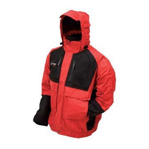 Frogg Toggs Frogg Toggs Firebelly Toadz Jacket Black/Red XX-Large NT6201-1102X