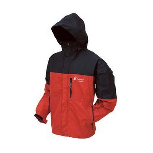 Frogg Toggs Frogg Toggs Toad-Rage Jacket Red/Black XX-Large NT6601-1102X