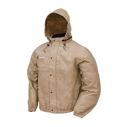 Frogg Toggs Pro Action Jacket Khaki Small