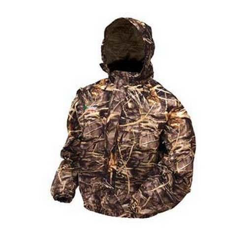 Frogg Toggs Frogg Toggs Pro Action Advantage Max-4 Camo Jacket X-Large PA63102-55XL
