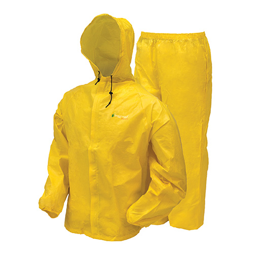 Frogg Toggs Frogg Toggs Ultra-Lite2 Rain Suit w/Stuff Sack Medium, Yellow UL12104-08MD