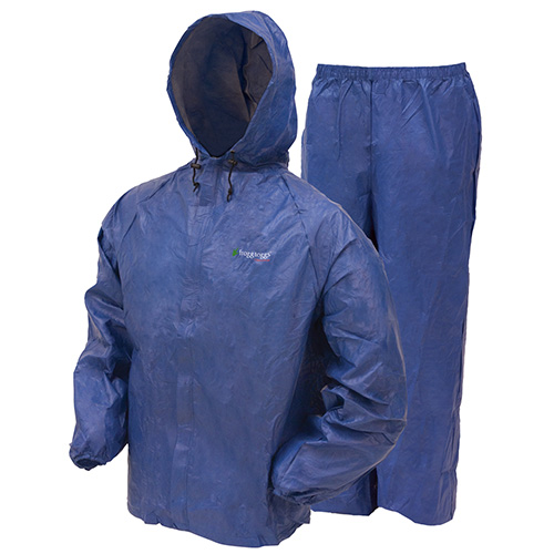 Frogg Toggs Ultra-Lite2 Rain Suit w/Stuff Sack Medium, Royal Blue