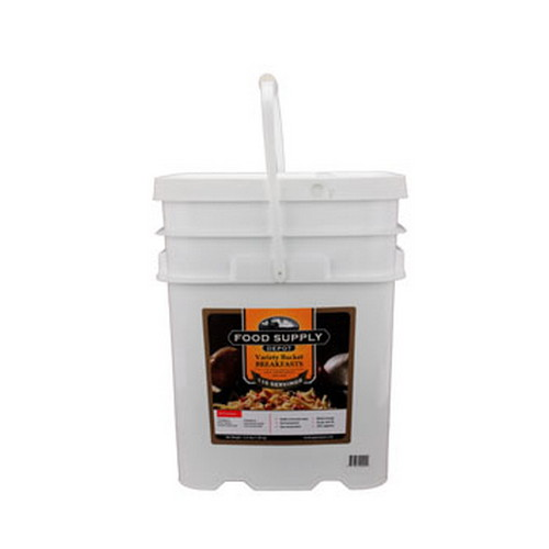 Food Supply Depot 26 Pouch Bucket Breakfast Variety