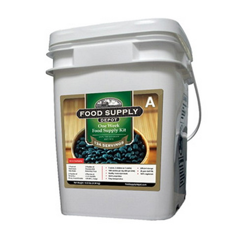 Food Supply Depot Food Supply Depot 1 Week Supply Kit Bucket 8 Gallon Bucket 90-04099