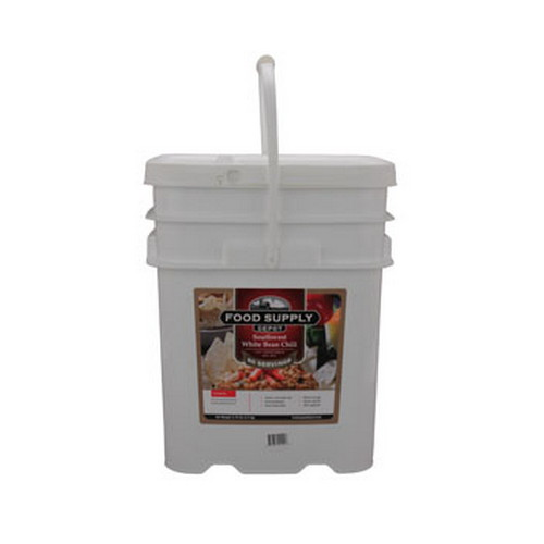 Food Supply Depot Food Supply Depot 20 Pouch Bucket Southwest White Bean Chili 90-04210