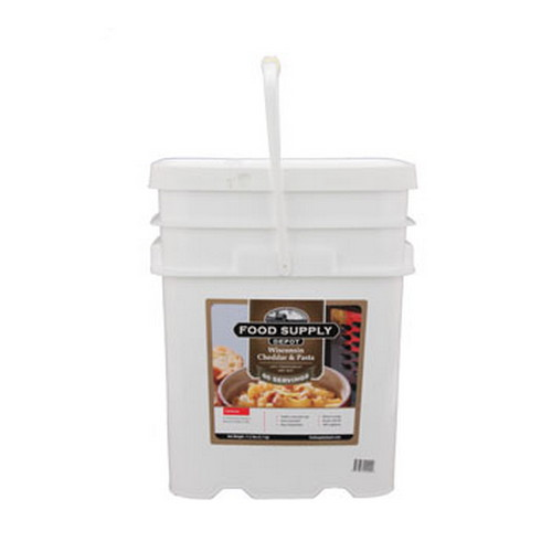 Food Supply Depot Food Supply Depot 20 Pouch Bucket Wisconsin Cheddar and Pasta 90-04225