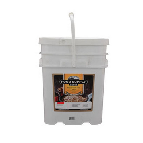Food Supply Depot Food Supply Depot 20 Pouch Bucket Harvest 6 Grain Cereal 90-04240