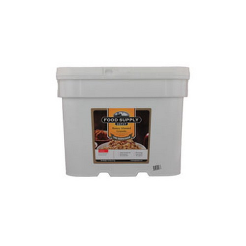 Food Supply Depot Food Supply Depot 20 Pouch Bucket Honey Almond Granola 90-04250