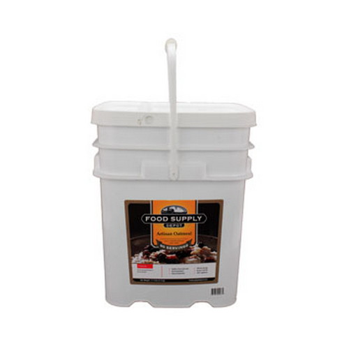 Food Supply Depot Food Supply Depot 20 Pouch Bucket Artisan Oatmeal 90-04255