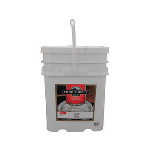 Food Supply Depot Food Supply Depot 12 Pouch Bucket White Rice 90-04260
