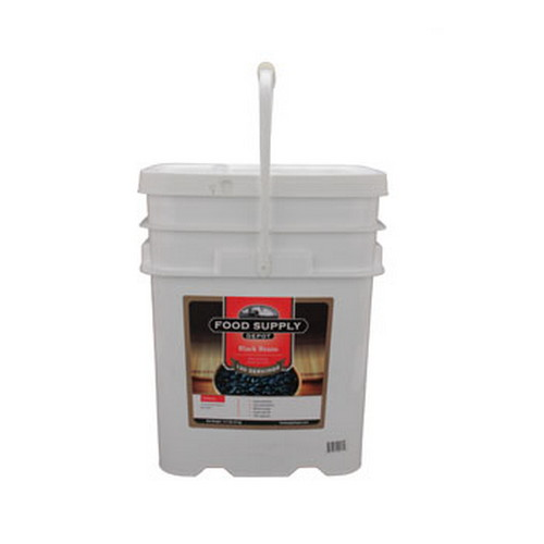 Food Supply Depot Food Supply Depot 12 Pouch Bucket Black Beans 90-04265