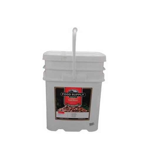 Food Supply Depot Food Supply Depot 12 Pouch Bucket Pinto Beans 90-04270