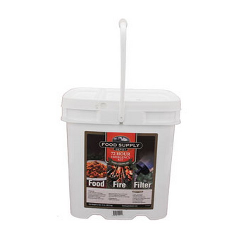 Food Supply Depot Food Supply Depot 72 Hour Bucket Food, Fire, and Filter 90-04329