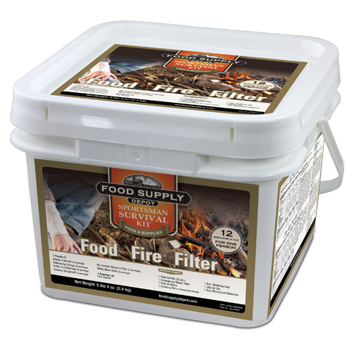 Food Supply Depot Food Supply Depot Sportman's Survival Kit 90-04400