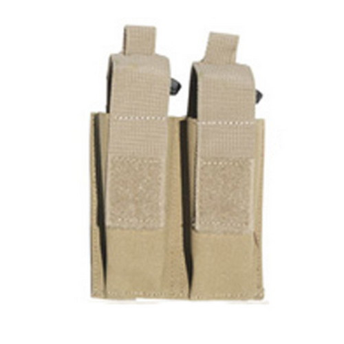 Galati Gear MOLLE Pistol Magazine Pouch (Holds 2) Tan