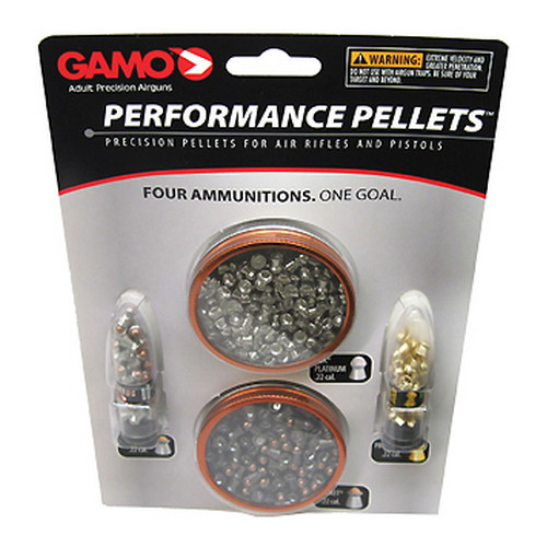 Gamo Combo Pack Performance Pellets .22 63209285554