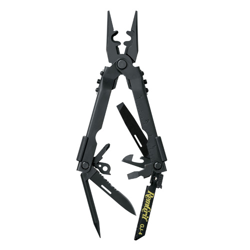 Gerber Blades Multi-Plier 600 Needle Nose, Saw, Punch, Black